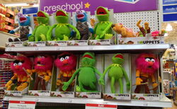 Just play 2012 muppet plush at toys r us