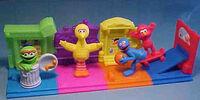 Sesame Street Happy Meal Street Scene