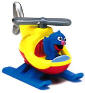 Matchbox grover's helicopter