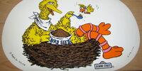 Sesame Street placemats