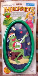 Muppet crewel picture kits (Briggs)