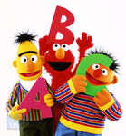 Bert Ernie Elmo ABCs