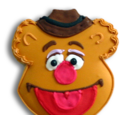 Muppet cookies (Starbucks)