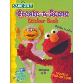 CreateaSceneStickerBook
