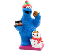 Cookie monster Christmas tablepiece