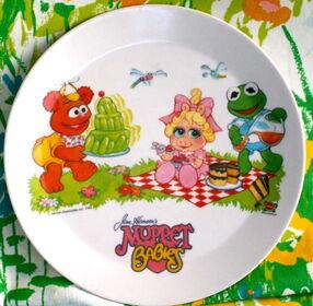 Deka 1986 muppet babies plate b