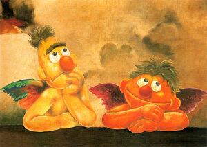 German-RaphaelSanzio-B&E-Postcard-1999