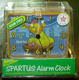 Big bird spartus alarm clock 1