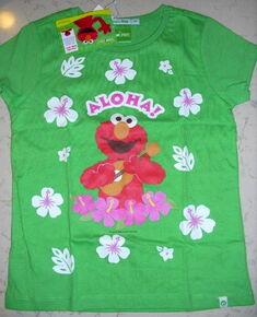 B 2009 el green t-shirt aloha