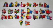 Applause alphabet sesame magnet set 1