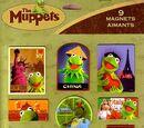 Kermit's World Tour magnets