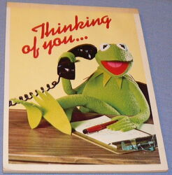 Whiting stationery 1977 kermit pad 1