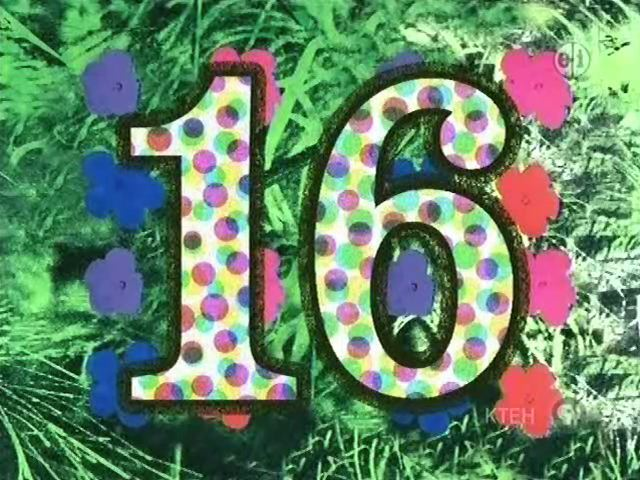 Sesame Street Number Of The Day 16 - YouTube