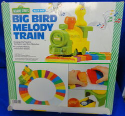 Blue box 1986 big bird melody train arrange track to compose melody 2