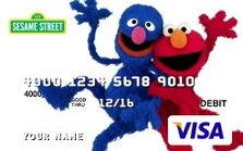 Sesame debit cards 48 grover elmo