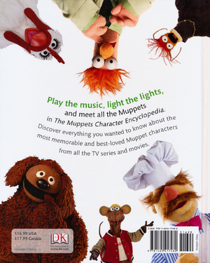 The Muppets Character Encyclopedia back cover