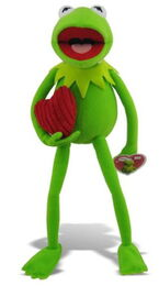 Just play 2013 valentine's kermit plush