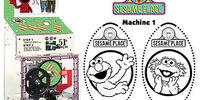 Sesame Place pressed pennies