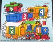 Playskool1974Train5pcs