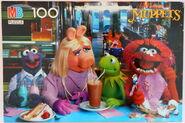 Milton bradley muppet puzzle soda fountian