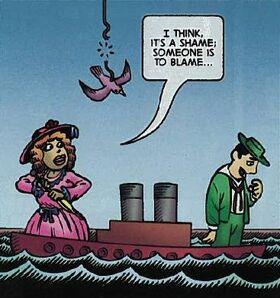 Lusitania Went Down