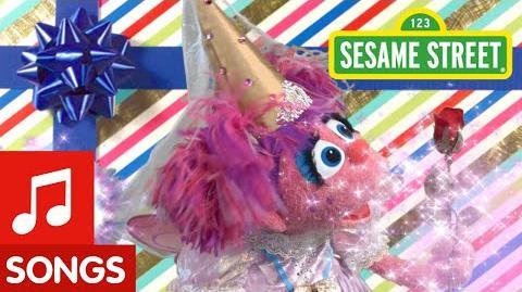Sesame Street Abby Happy Birthday Song!