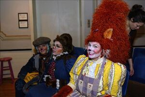 Scott Barnhardt (Weasel), Jill Abramovitz (Mrs. Mink) & Jennifer Barnhart (Mme Squirrel)