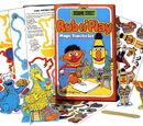 Sesame Street Rub n' Play Transfer Sets