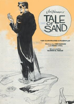 Tale of Sand illustrated screenplay