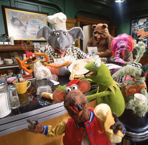 Muppets tonight kitchen
