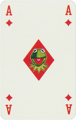 1978 playing cards Ace Diamonds