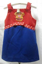 Danskin late 70s fozzie dress 1