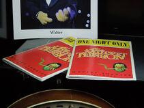 Mock playbills for telethon