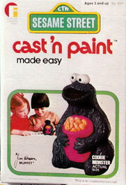 Friends industries 1976 catalog cast 'n paint 2 cookie m
