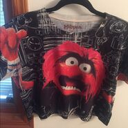 Forever 21 animal crop top 1