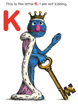 King Grover - Grover's Own Alphabet