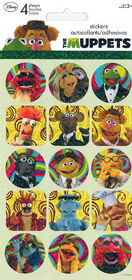 Sandylion muppet stickers 2011 a