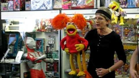 Red Fraggle live at Meltdown Comics