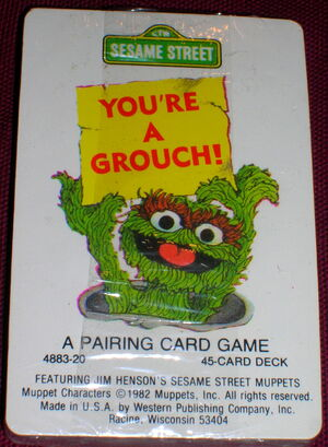 Western 1982 you're a grouch card game 1