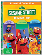 Sesame Street Essential Collection Alphabet 3 Pack DVD 3D R-112279-9