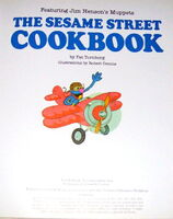Sesame street cookbook 2