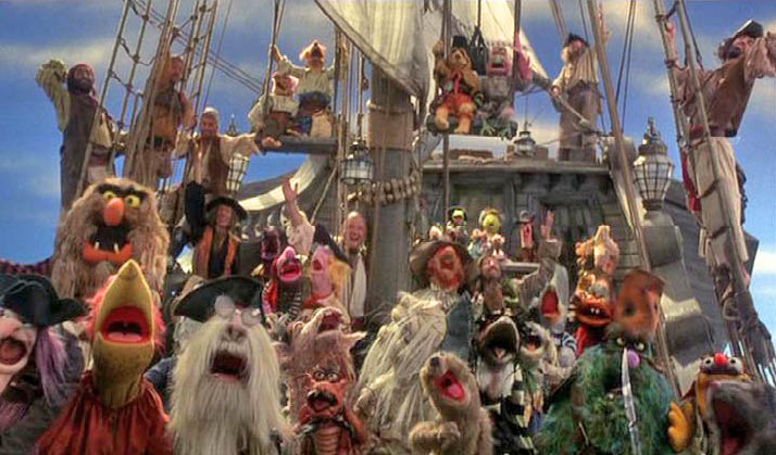 Image result for muppet treasure island pirates