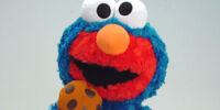 Elmo Costumed in Sesame Pals plush
