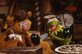 Kermit Fozzie attic