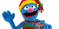 Grover exclusive plush (Macy's)
