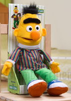 United labels puppet plush bert