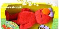 Sleeping Elmo plush