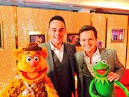 Ant and dec March 2014