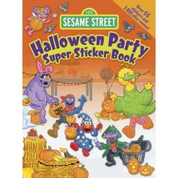 HalloweenPartySuperStickerBook