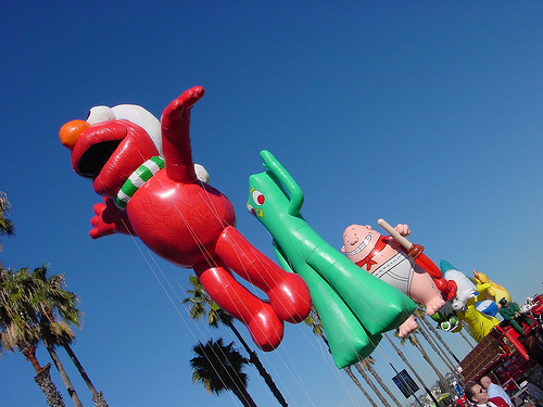 File:San Diego parade Elmo and others.jpg